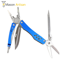 1Piece Multi Tool Pliers Wire Strippers Screwdriver Scissors Portable Wallet Outdoor Survival Hand Tool Multitool Multitul Ninja(China)