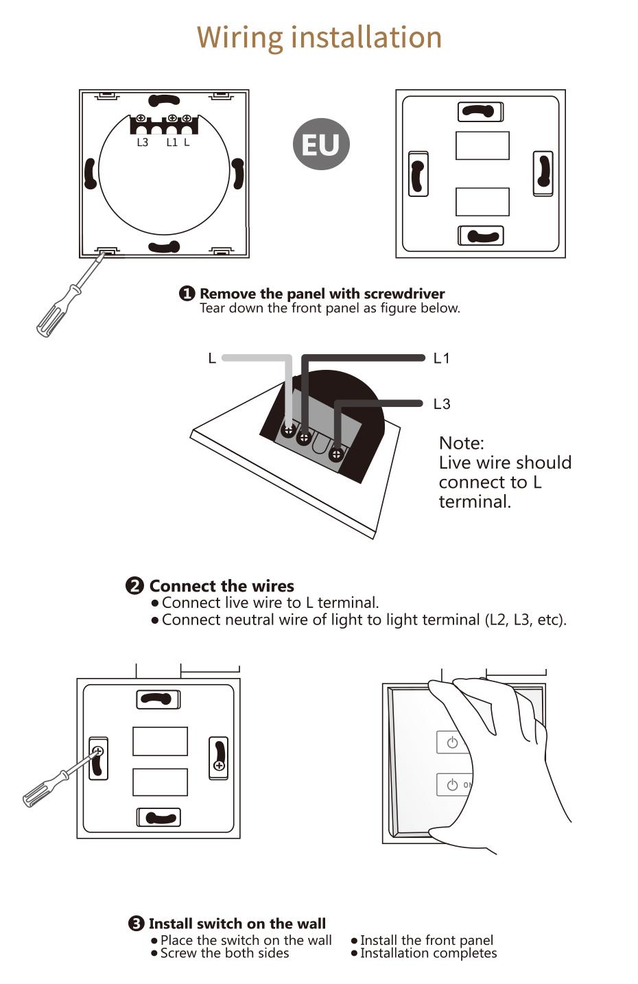 fix instrucation