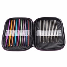 Buy 22 pcs/Set Mixed Aluminumt Needles Crochet Hooks Set Knitting Knit Needle Home Sewing Needlecrafts Tool Set for $7.98 in AliExpress store