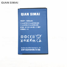 QiAN SiMAi HB4F1 1800mAh Mobile Phone Battery For HUAWEI U8230 / U9120 / C8600 / E5830 / C800 / U8800+ Tracking Code(China)