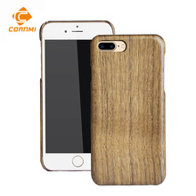 Wood Bamboo Cases For iPhone 7 Plus Cover Anti-knock Slim Back Cover Cell Phone Protector Accessories With Screen Glass CORNMI(China)
