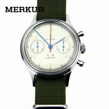 Genuine Seagull Chronograph Mens Wrist watch Pilot Official Reissue 304 St1901 1963 Flieger Old vertion Non limited(China)