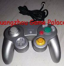 Wired Controller Gamepad Joystick Handheld For Nintendo Wii GameCube NGC Silver Free shipping