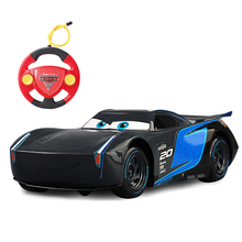 Disney Pixar Cars Cars 3 Lighting McQueen Jackson Storm Cruz Ramirez Remote Control Plastic Model Car Birthday Gifts For Kids