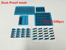 50pcs&100pcs/lot Rubber Dust-proof Net Mesh Stickers For iPhone 4 4S SE 5 5S 5C 6 6S 7 8 + Plus Earpiece Speaker Aniti Dust Mesh(China)
