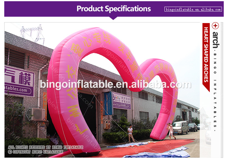 BG-A1169-inflatable-Heart-shaped-arches-bingoinflatables_01