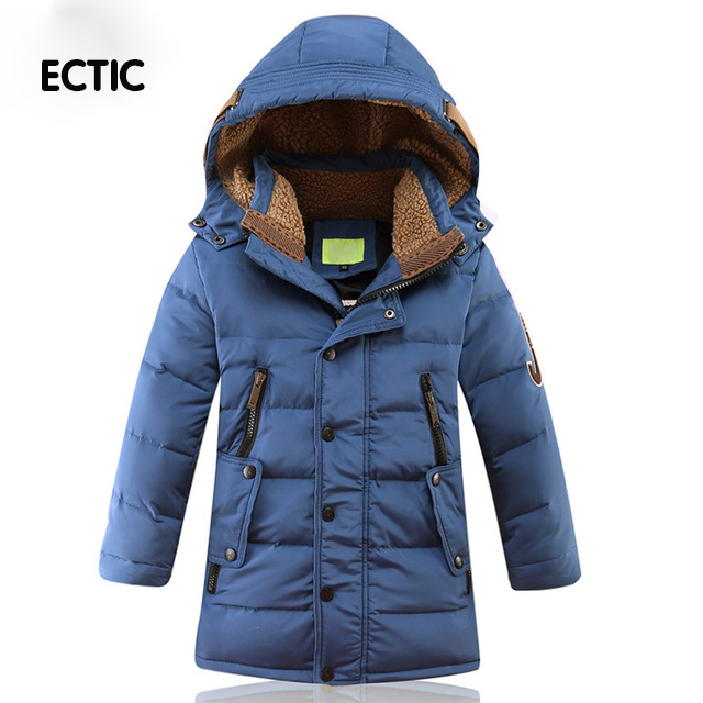 2017 Fashion ChildrenS Winter Thick Down Jacket Boys Down Jacket oieys dor Duck Down Jacket Wear Coat casual Hooded down jacket<br>