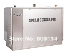 auto-descaling 12kw commercial steam generator with SUS316 heat element ,sequential heating system(China)