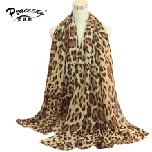 1 PC  180*90cm Big size New Arrival Winter Scarf Brand Design Cotton Shawl With Print Leopard Scarfs Free Shipping SW137