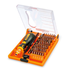 38 in1 Precision Screwdriver Set with Tweezer Mobile Phone Repair Tools Kit For iPhone iPad Samsung Cell Phone Hand Tools(China)