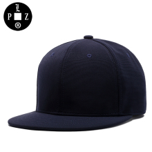 PLZ New Snapback Caps Hip-Hop Baseball Cap Men Skateboard Bboy Dancer Poping Breaking Hats Rap Superstar Style Adult Caps Blue