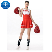 MANLUYUNXIAO High School Musical Cheerleader Costume Cheer Uniform Fancy Dress Without Pom Poms Five Colors Wholesale