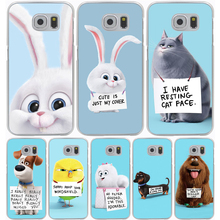 The Secret Life of Pets Hard Transparent Cover Case for Galaxy A3 A5 7 8 J5 J7 & Note 5 4 3 2 & Grand 2 Prime