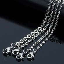 Titanium steel necklace man