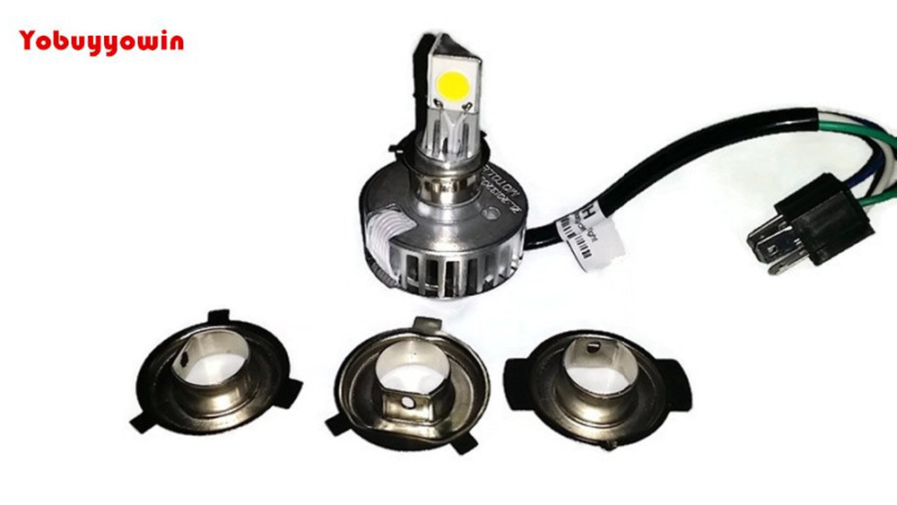 LED Bulb Headlight H4 Harley, Road King, Electra Glide, Ultra Classic, Ultra Limited For Motor<br>