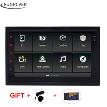 Funrover 2 din car audio dvd player android 5.1  Quad Core   For Old Volkswagen VW Passat B5 Jetta Polo Bora Golf 1996-2008