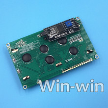 1PCS LCD2004+I2C 2004 20x4 2004A blue screen HD44780 Character LCD /w IIC/I2C Serial Interface Adapter Module(China)