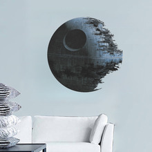 ultimately weapon Death Star Star War wall stickers movie fans home decor kids wall decal mural art cartoon adesivo de parede