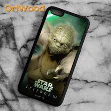 OriWood Star Wars Yoda Manager Case cover For iPhone 6 6S 7 8 Plus X 5 5S SE Samsung galaxy S5 S6 S7 edge S8 Plus Note 8 shell(China)