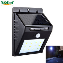 12 LED Solar Light Motion Sensor Waterproof Wireless Solar Power Lamp Outdoor Garden Wall Yard Deck Bright Security Night Lights(China)