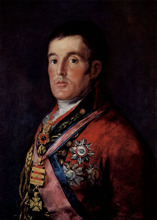 Free shipping 100% hand painted most famous artists painting reproduction goya oil painting The-Duke-of-Wellington