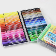 Color pen art marker drawing set colors children watercolor pen safe non-toxic water washing graffiti health and environmental(China)