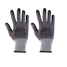 Mechanics Work Gloves Breathe Waterproof Nitril Coating Safety Garden Gloves Protective Glass ,Gardening ,Construction Gloves