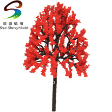 R0164 Scale Train Layout Set Model Trees N HO 6cm(China)