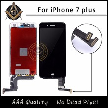 2PCS For Good Oem Touch Screen For iPhone 7 Plus LCD With Goos 3D Touch Digitizer Display Assembly Free Shipping DHL