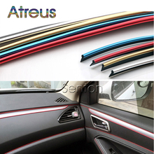 Atreus Car Interior Decoration Moulding 5M For Peugeot 307 206 308 407 207 2008 3008 508 406 208 For Citroen C4 C5 C3 C2