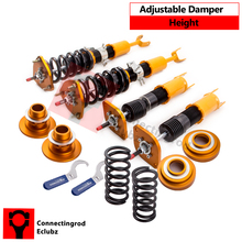 24ways Adj. Coilover Suspension Kit for Infiniti G35 03-07 For Nissan Fairlady Z 350Z Z33 Shocks Absorber Coupe Struts Golden(China)
