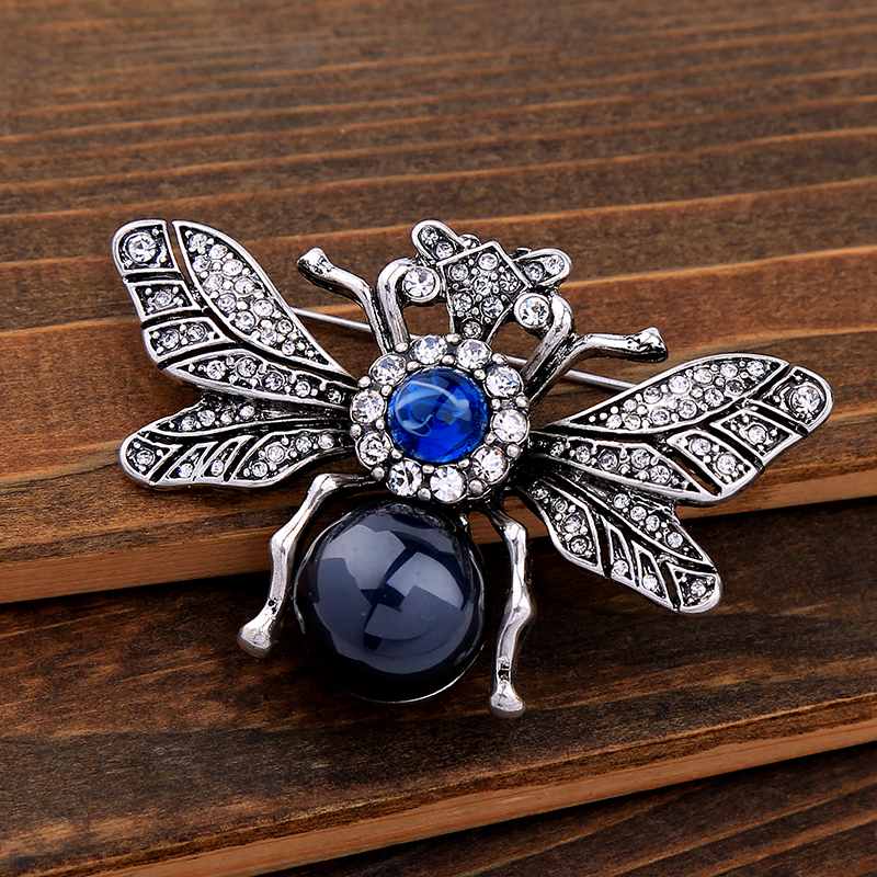 Insect Vintage Spider Brooch Bee Brooch*