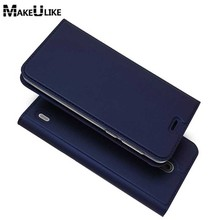 MAKEULIKE Slim Magnetic Case For Nokia 2 Flip Cover PU Leather Mobile Phone Bags Cases For Nokia 2 Nokia2(China)