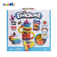 2016 Magic Puffer Ball 400 Pieces Accessories Build Mega Pack Animals DIY Assembling Toys Best Blocks Toy Sets For Children