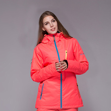 2016 GSO Snow winter ski jackets, ski clothing brands women ladies wind waterproof breathable color free shipping