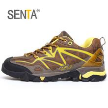 SENTA New Authenti Outdoor Mountain Men Hiking Shoes Women Male Leisure Sports Shoes Athletic Quality Lover Hiking Shoes(China)