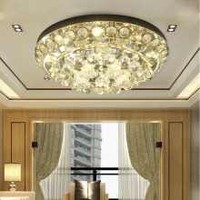 LED Kids Ceiling Lamps 110v-220v Golden Round Crystal Ball Bedroom Lighting Living Room Lamp Warranty for Three Years