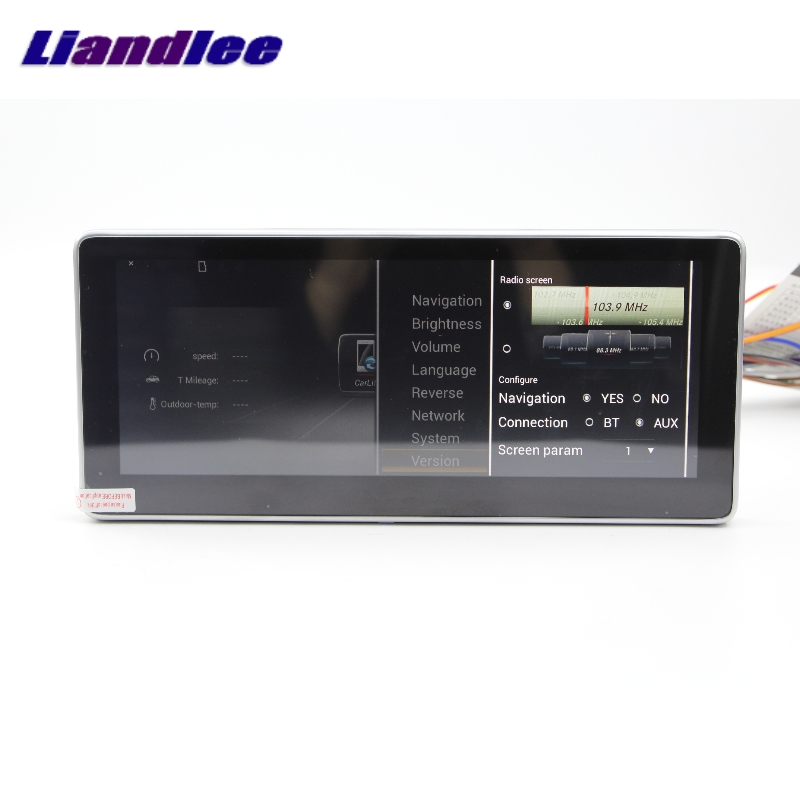 Liandlee Car Multimedia Player NAVI For Mercedes-Benz MB GLC Class X253 C253 2015~2018 Car Radio Stereo GPS Navigation 6