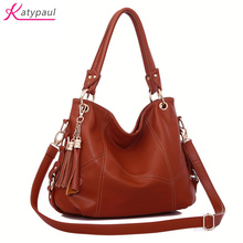 Famous Brand Female Bolsas Big Women Bag 2017 Rice White Brown Crossbody Bag For Women Leather Handbag Bag Soft Shoulder Handbag