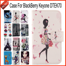 AiLiShi Case For BlackBerry Keyone DTEK70 Luxury Flip Hot Sale PU Leather Case Exclusive 100% Special Phone Cover Skin+Tracking