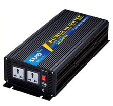 Pure sine wave inverter 2000W 110/220V 12/24VDC, CE certificate, PV Solar Inverter, Power inverter, Car Inverter Converter(China)