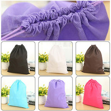 Best Quality 30x40CM Shoes Bag Travel Storage Pouch Drawstring Dust Non-woven Portable