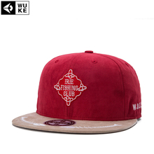 Men Woman Caps Fashion CLUB Baseball Cap Red Hat Hip Hop Snapback Flat Peaked Hat Visor Adjustable