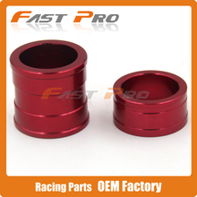 CNC Billet Front Wheel Hub Spacers For CR125 CR250R CRF250R CRF250X CRF450R CRF450X Motorcross Motorcycle Enduro Dirt Bike(China)