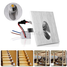 New Style LED Recessed Light Wall Lamp Decoration LED Basement Bulb Porch Pathway Step Stair Light Aisle Lamps 85-265V