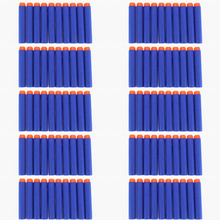 200 pcs/set Blue Dart Refills Universal Standard hard Head Hollow Foam Bullets for Nerf Toy Gun(China)