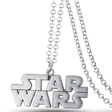 MS JEWELS Movie Star Wars Metal Alloy Character Pendant Necklace Cosplay Jewelry Gift Accessories