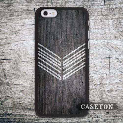 Chevron With Wood Case For iPhone 7 6 6s Plus 5 5s SE 5c 4 4s and For iPod 5 Classic High Quality Protective Cover