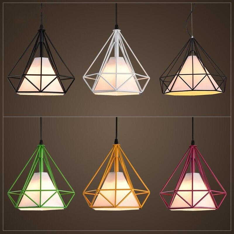 Vintage Pendant Lamps loft Pendant Lights Hanging lamps for Kitchen 4size Suspension Luminaire Lamparas Lightings cloth lamp<br>