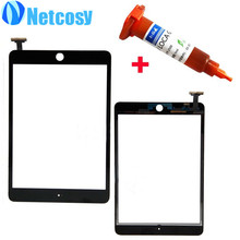 High Quality For Apple mini 1 / 2 Black & White Touch Screen Glass Digitizer Replacement for iPad mini 1 &2 +5mL UV Glue(China)